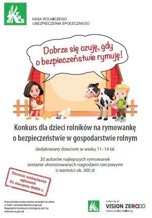 Plakat_konkurs_dla_dzieci_rymowanka